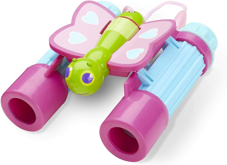 Melissa & Doug Sunny Patch Cutie Pie Butterfly Binoculars - Pretend Play Toy