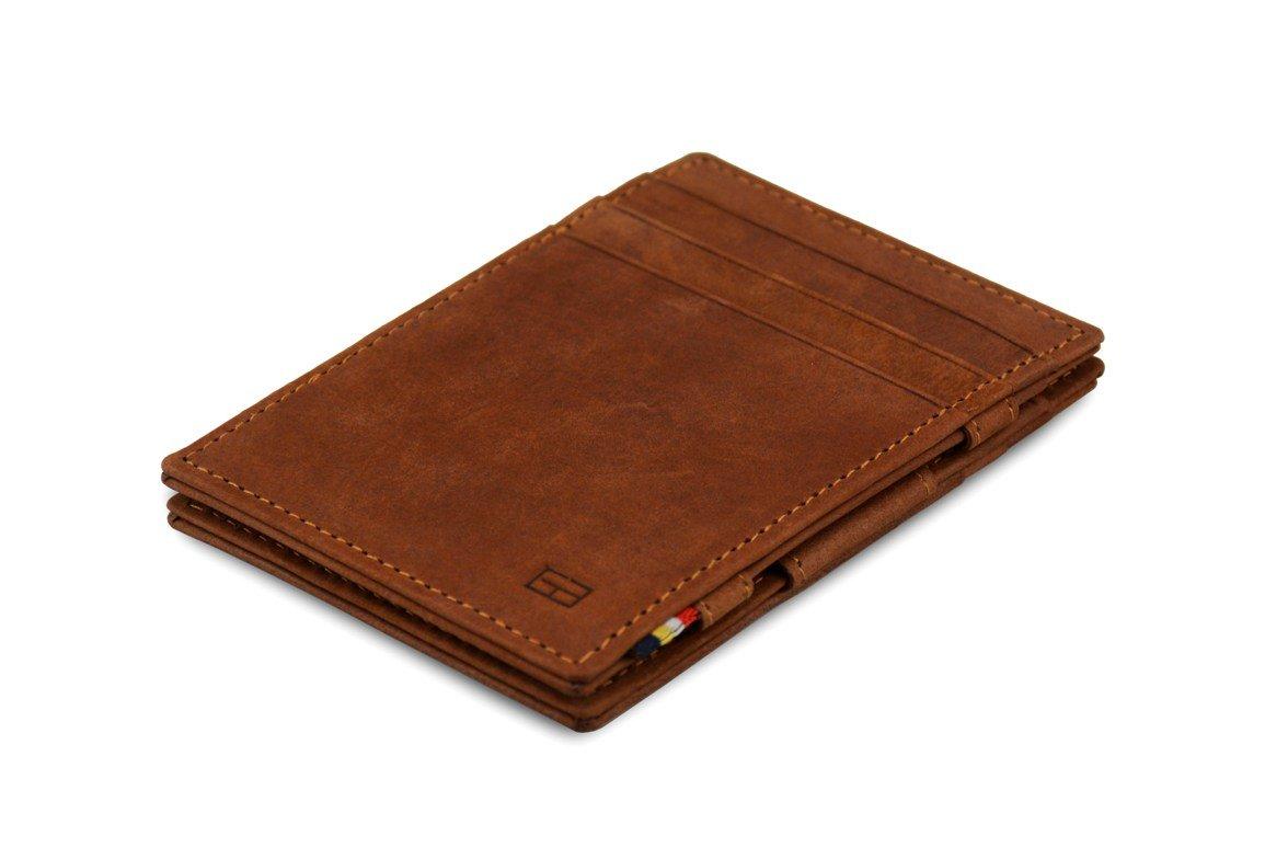 Garzini Magic Wallet RFID Leather Essenziale (Java Brown)