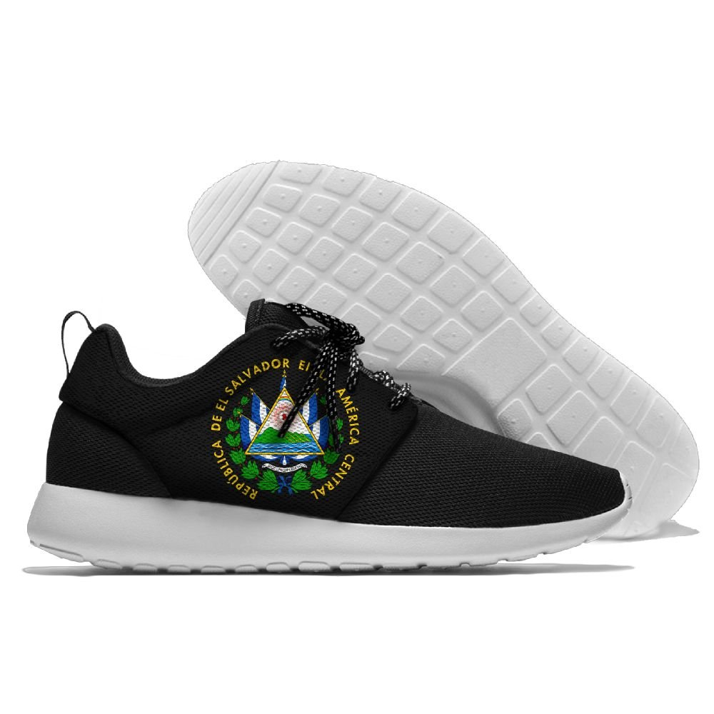 El Salvador Coat Of Arms Unisex Jogging Shoes Graphic Casual Sneakers For Running,Walking,Traveling