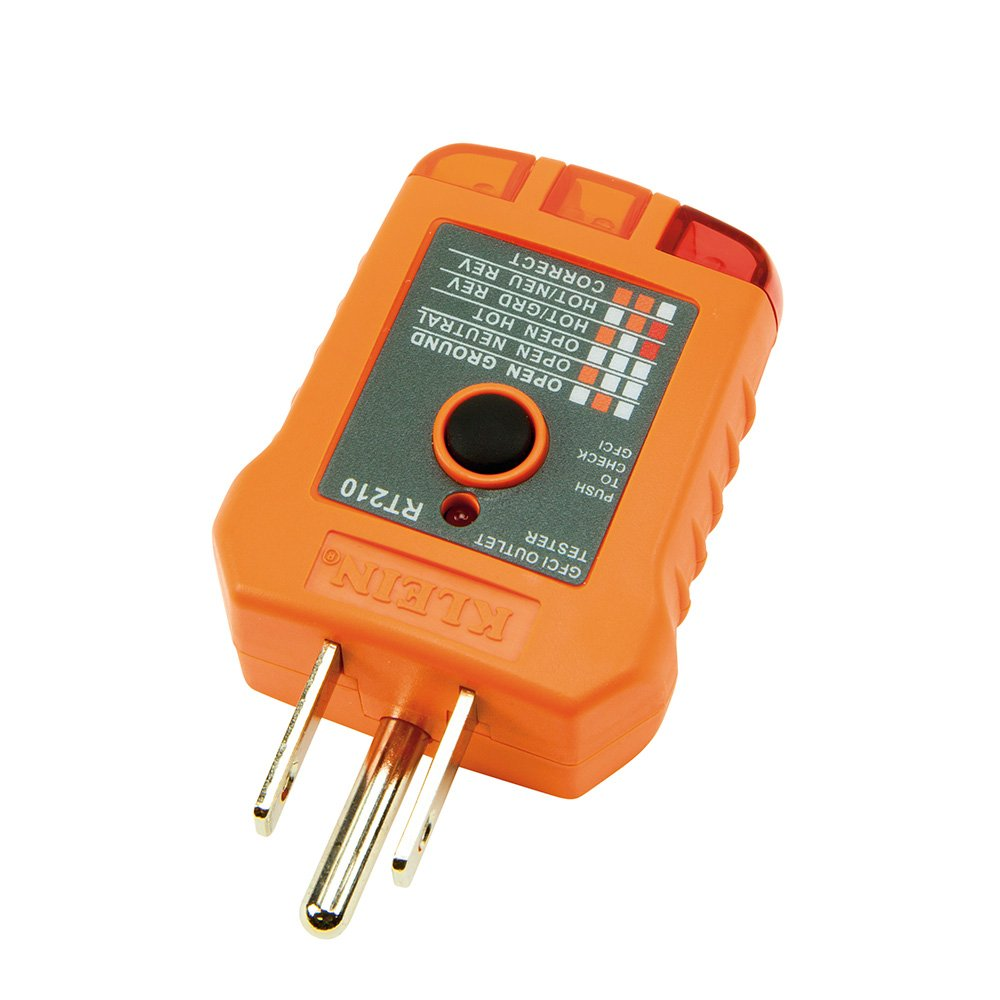 Gfci Receptacle Tester Klein Tools Rt210 Wiring Outlets