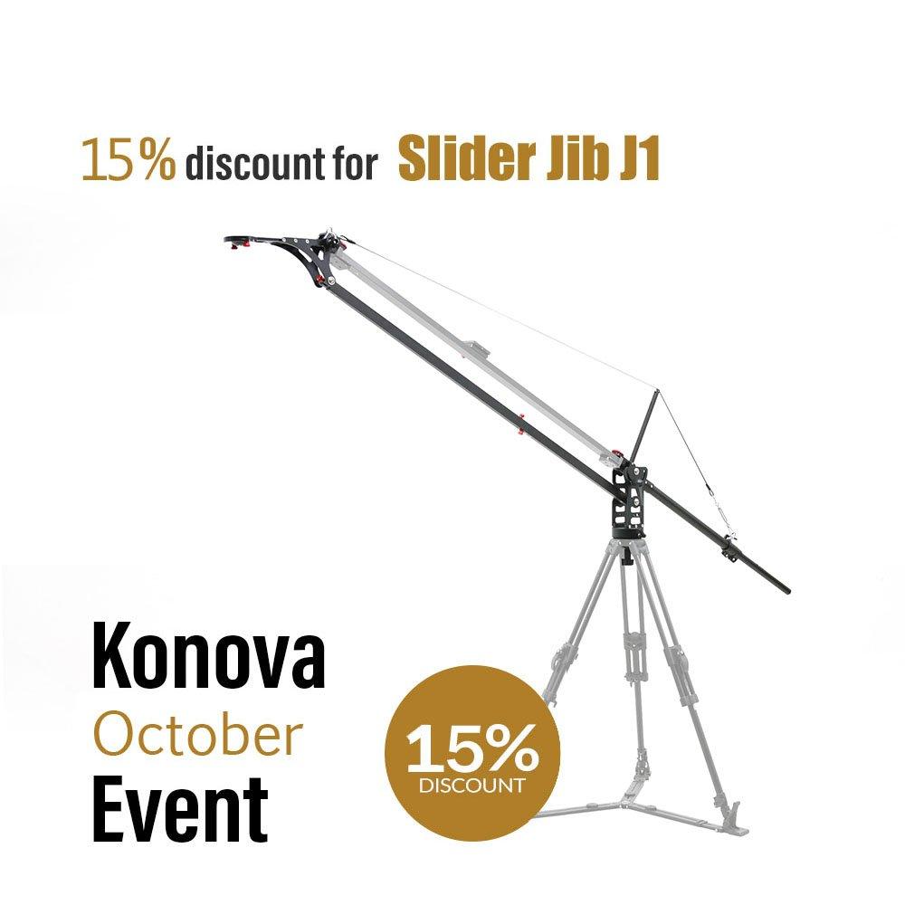KonovaスライダーJib j1 120 cm 47.2インチ( Not Includeスライダ)   B00DXZCBFG