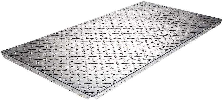 Aluminum Pegboard Panel with Flange