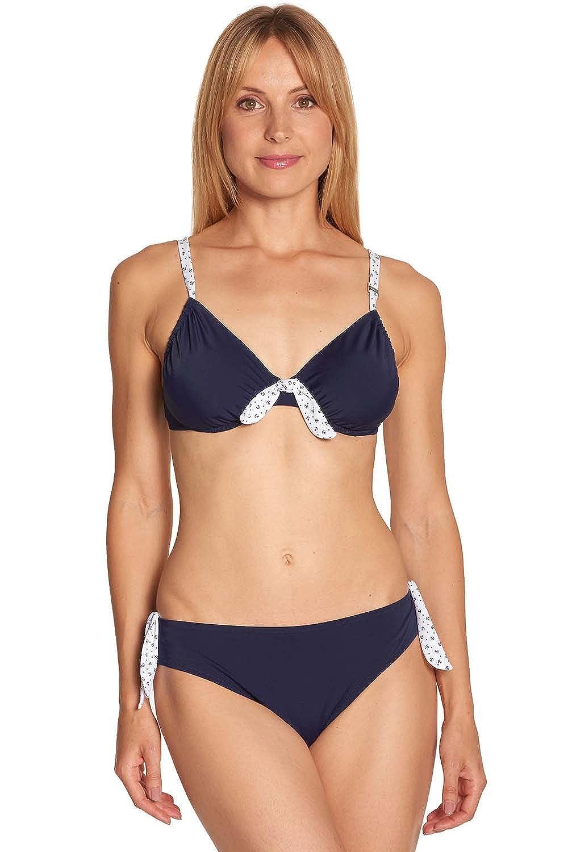 Rösch Bikini mit Ankerprint Gr. 40