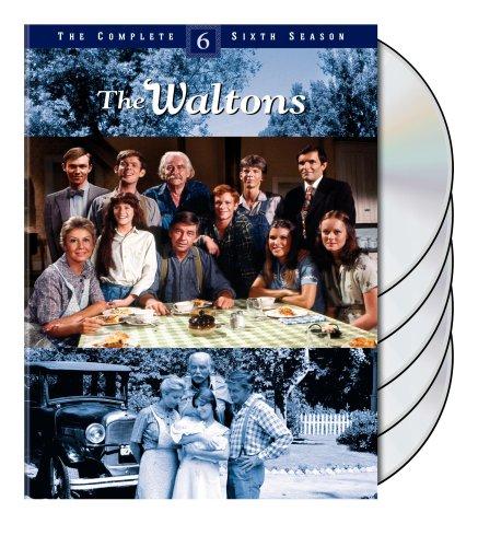 DVD : The Waltons: The Complete Sixth Season (Digipack Packaging, Standard Screen, 5 Disc)