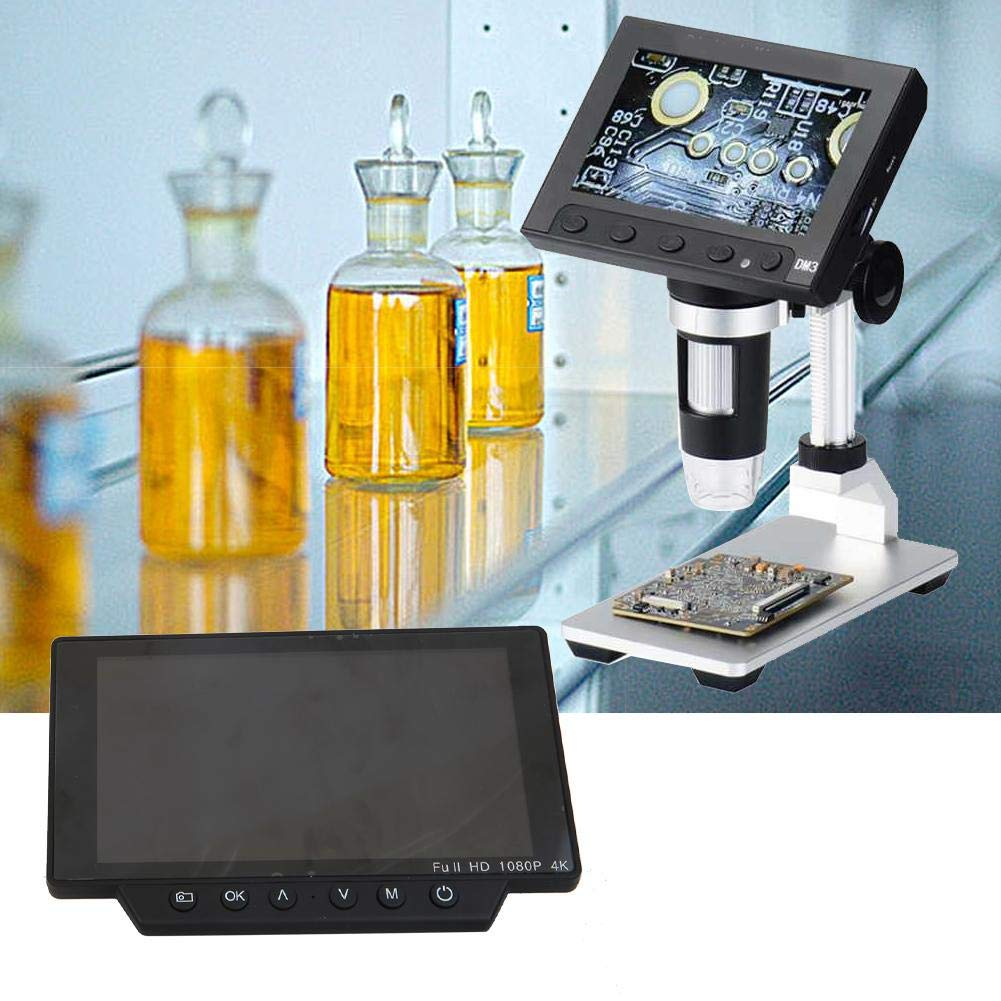 USB Microscope 1080P 4k 5in 60FPS WiFi Microscope Camera Set with USB Interface