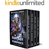The Fantasy & Forensics Box Set 1: Books 1-4 (Centaur of the Crime, The Deer Prince's Murder, Grand Theft Griffin, A Perjury