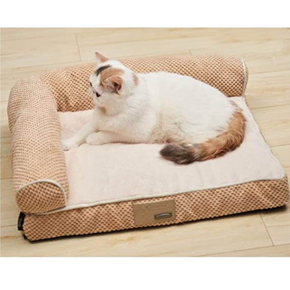 Amazon.com : YINJIESHANGMAO Dog Bed, Detachable Puppy, Teddy ...