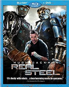 Cover Image for 'Real Steel (Two-Disc Blu-ray/DVD Combo)'