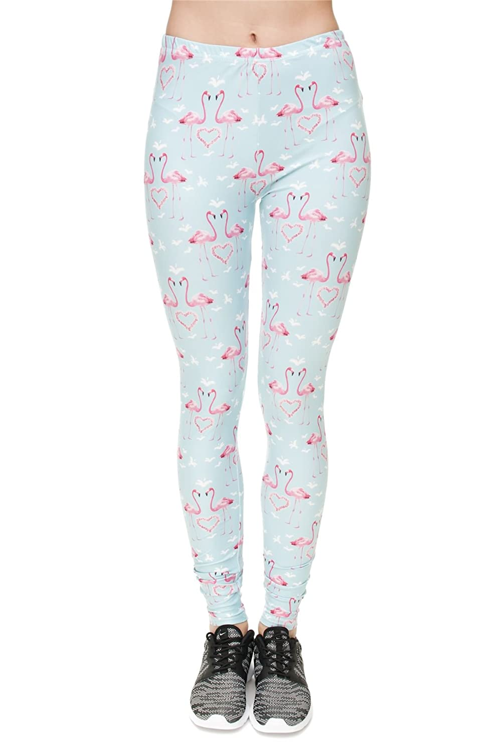kukubird PANTS レディース B075XSV5BP Flamingo Hearts レディース Flamingo B075XSV5BP PANTS Hearts, サヌキ市:3d34df57 --- itxassou.fr