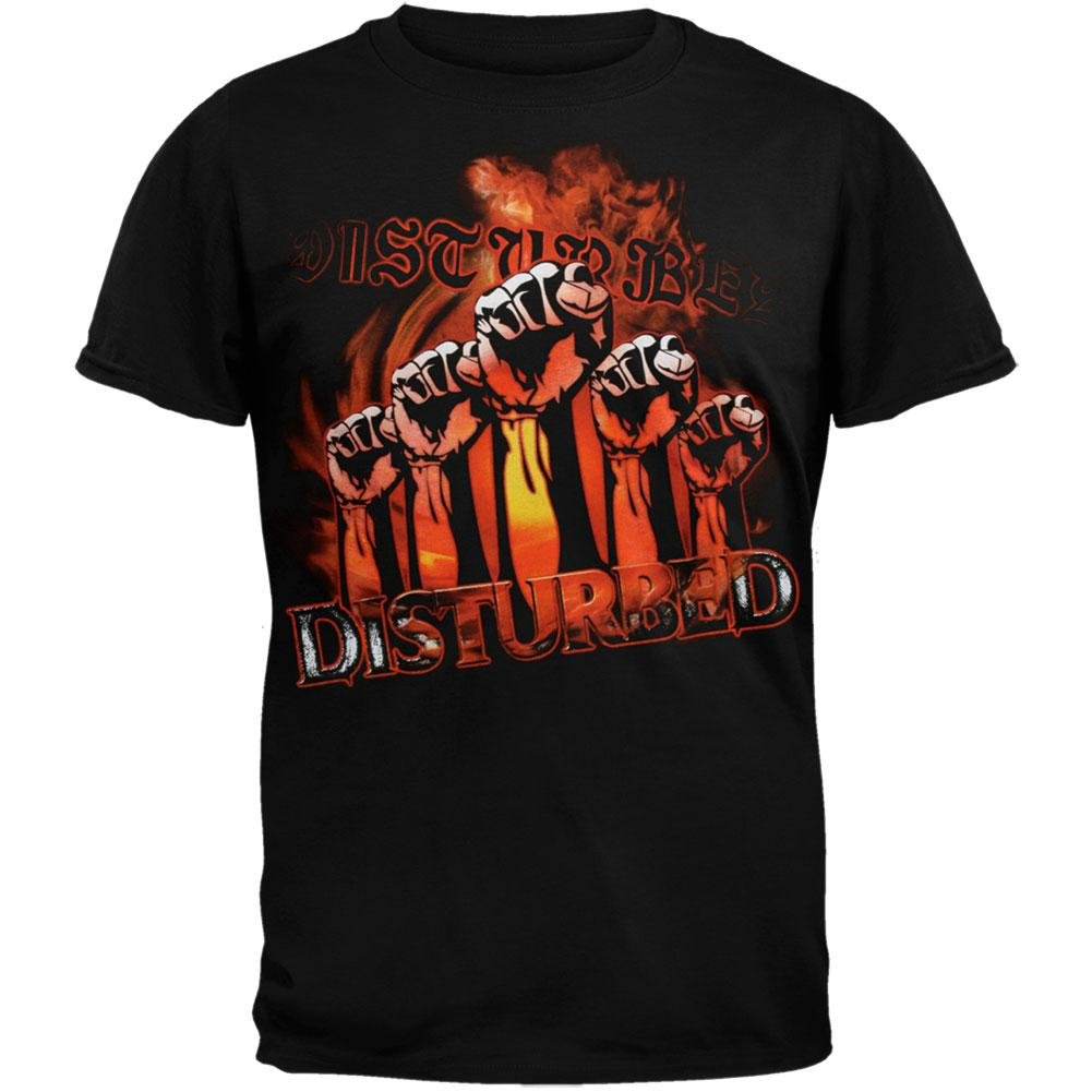 Disturbed - Fists 05 Tour T-Shirt American T-Shirt