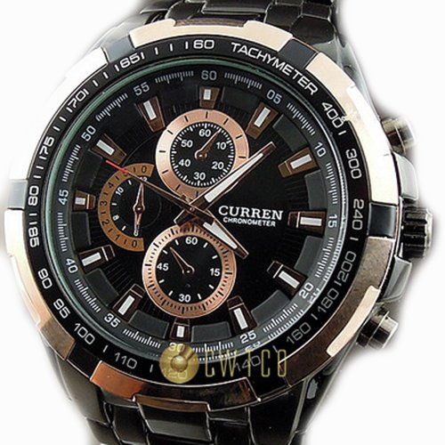 CURREN Stylish Stainless Watchband Watch 8023Rosegold product image