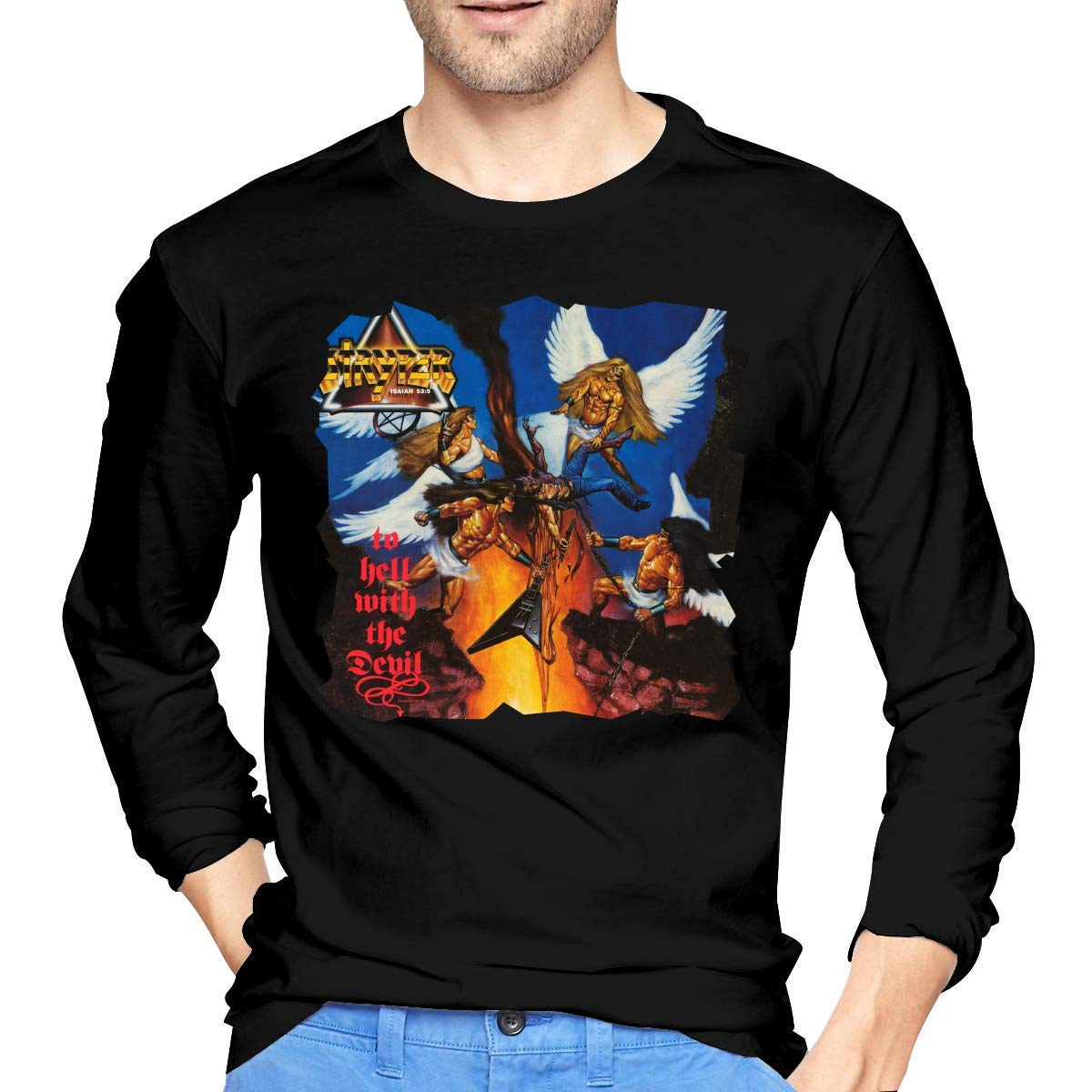 Fssatung S Stryper To Hell With The Devil T Shirts Black
