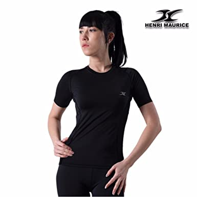 1a9268e8564 Women's Compression Shirt SG Under Base Layer Short Sleeve Compression  Shirts at Amazon Women's Clothing store: