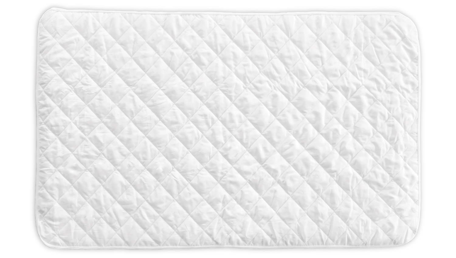 Little One's Pad Pack N Play Crib Mattress Cover - Fits ALL Baby Portable Cribs, Mini and Foldable Mattresses - Waterproof, Dryer Safe and Hypoallergenic - Comfy and Soft Fitted Crib Protector