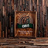 Personalized Bottle Cap Shadow Box with Free Stainless Steel Bottle Opener Review