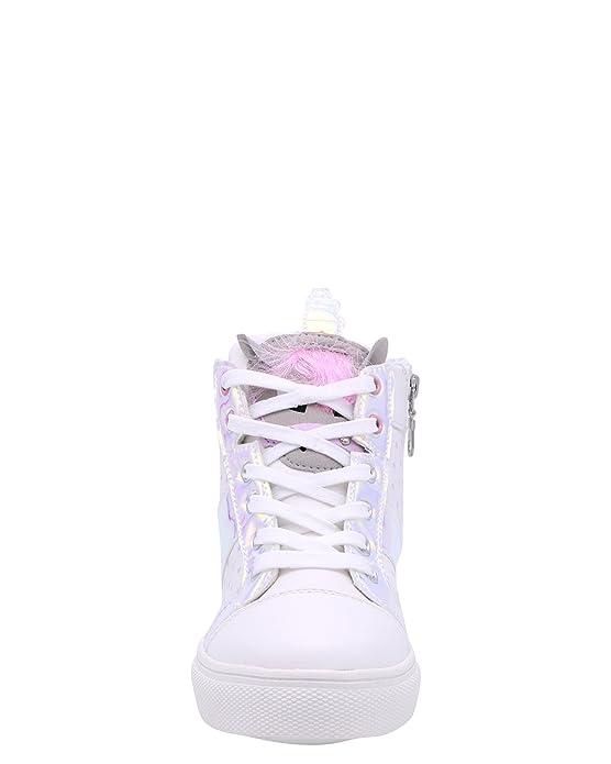 Amazon.com | Olivia Miller Girls Unicorn High Top Sneaker (Little Kid/Big Kid) | Sneakers