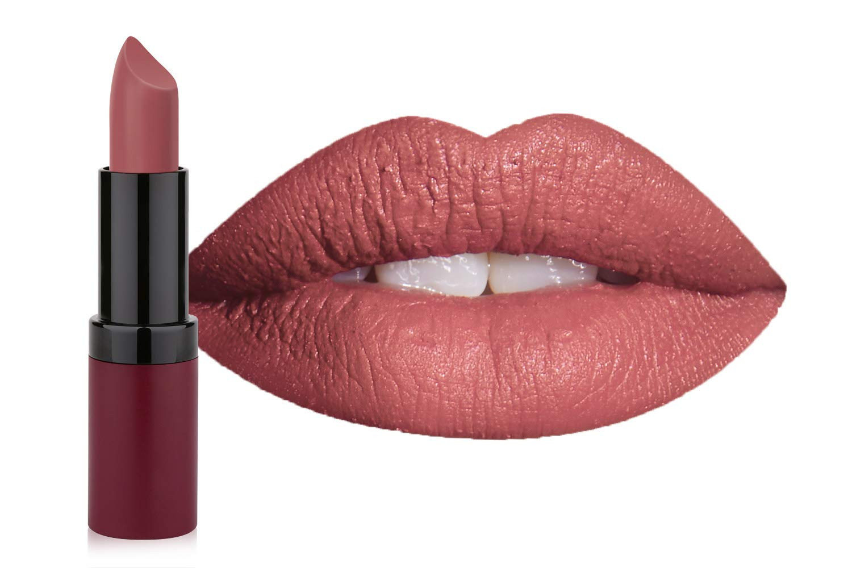 Amazoncom Golden Rose Velvet Matte Lipstick 16 Coral Tree Red