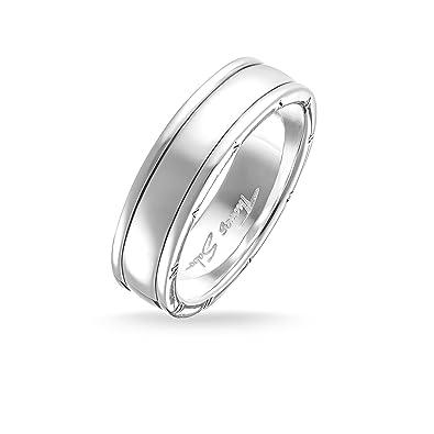 979ab7f8c6cd Thomas Sabo Unisex Ring TR1936-001-12 Ring 925 Sterling Silver ...