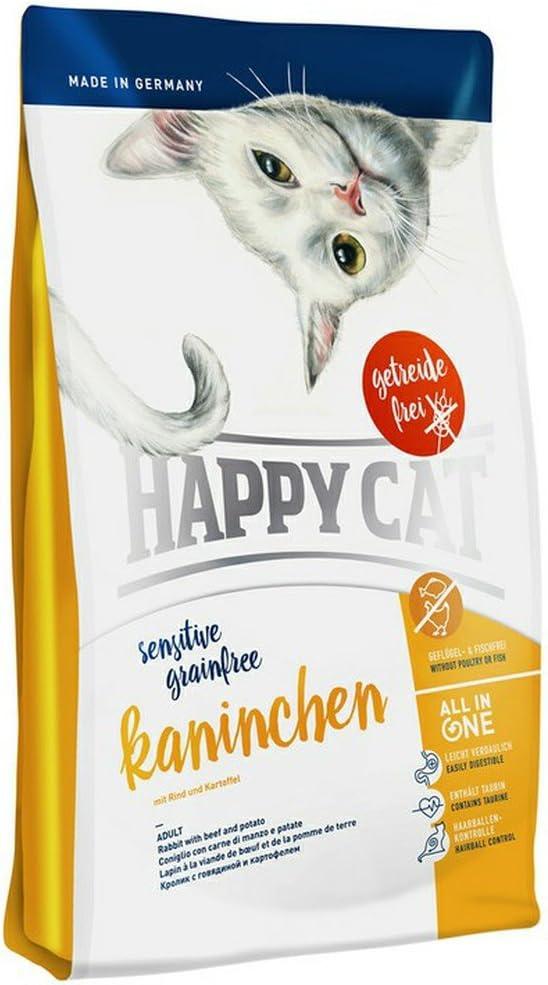 Happy Cat Sensitive Grain-Free Rabbit Comida para Gatos - 4000 gr