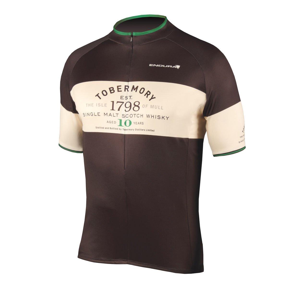 Endura 2015メンズTobermory Whisky Cycling Jersey – e3080 B00LNEQ204 S ブラック ブラック S
