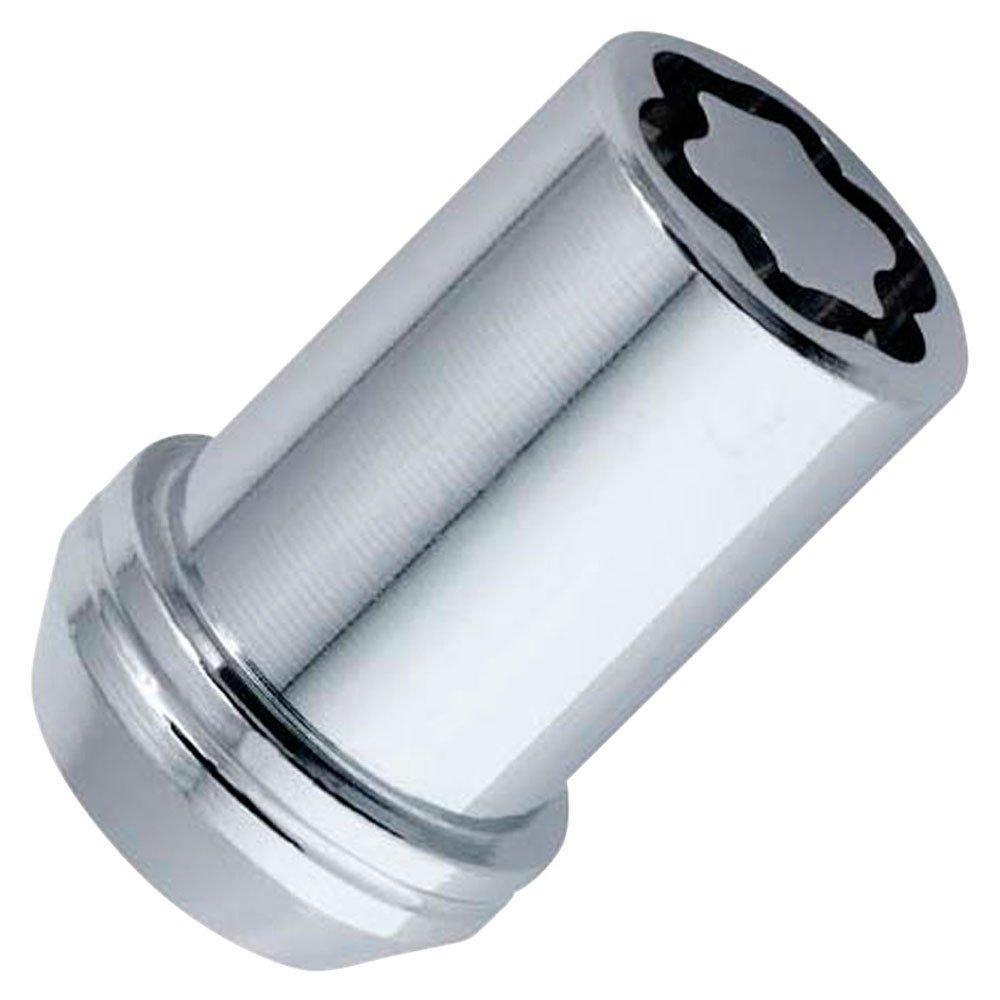 Butzi cromato antifurto bullone ruota di bloccaggio noci e 2/chiavi a Fit Toyota Aygo 12/x 1.50/l26