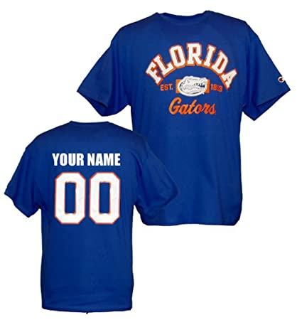 save off 1b37e 17f40 Amazon.com : Custom Florida Gators T Shirt : Sports & Outdoors