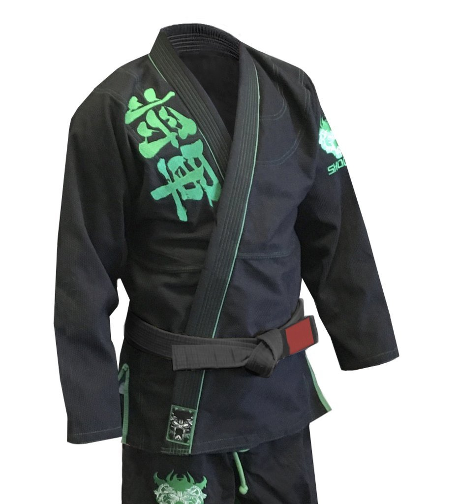 Shogun Fight Fight '漢字'エメラルド450 Shogun B078VTLYNG gパール織りコットンBJJプレミアム柔術GI A4 B078VTLYNG, キミツシ:61647f2c --- capela.dominiotemporario.com