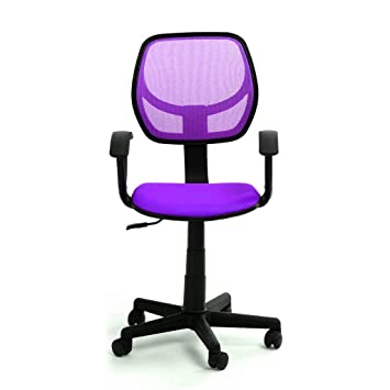 GreenForest Desk Chair Adjustable Height Swivel Computer Chair For - Computer chair uk