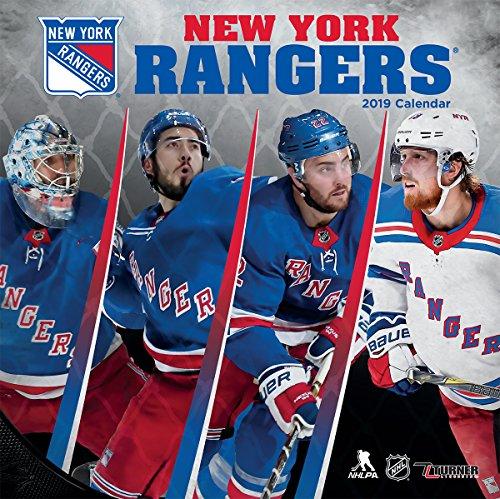 Turner Sport New York Rangers 2019 12X12 Team Wall Calendar Office Wall Calendar (19998011949)