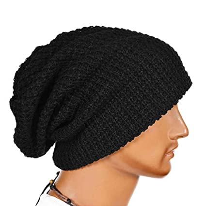 Providethebest Oversized Uomini Cappello di Lana Beanie Baggy Lungo Slouchy  Inverno Caldo Calotta 18 (W)   26 (H) cm  Amazon.it  Casa e cucina 1be0c12183df