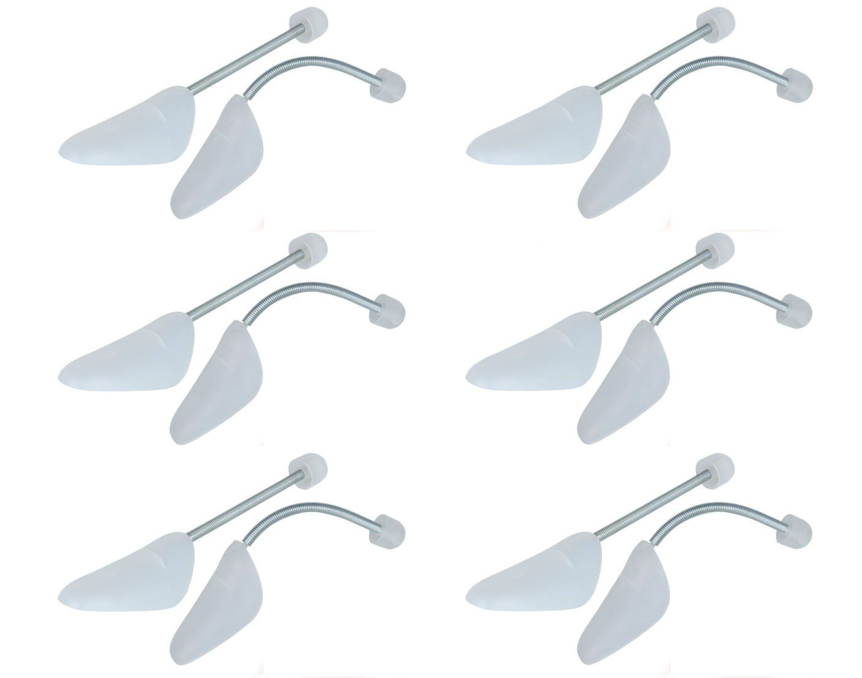 Tendiscarpe Scarpa Dehner plastica morbida con piuma da donna o da uomo scarpe 6/Coppia Set bianco