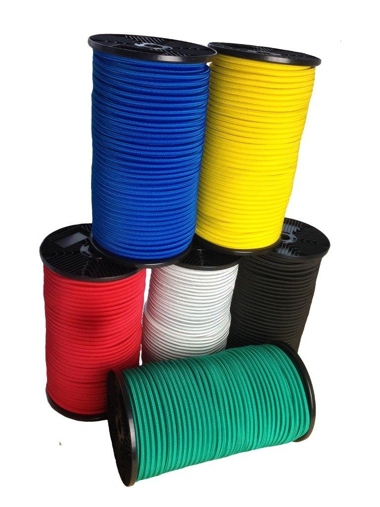 Haute performance rouge ou en bleu 8 mm –  20 mm argent avec amarrage kennung Seilediscount