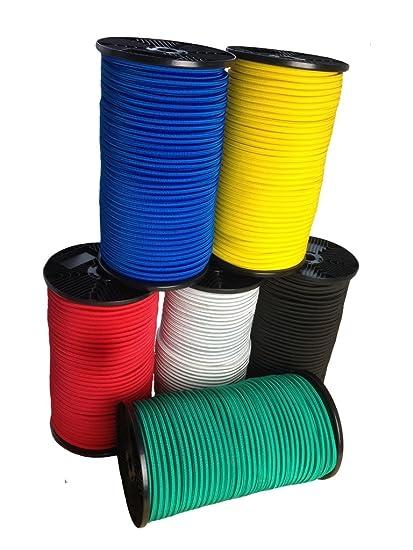6mm Expanderseil Zubehör Spiralhaken 5m Bis 50m Gummiseil Gummileine Spannseil Haken Business & Industrie
