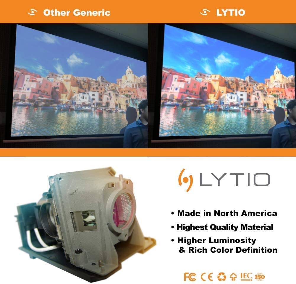Lytio Premium for Boxlight XP5T-930 Projector Lamp with Housing XP5T 930 Original Philips Bulb Inside