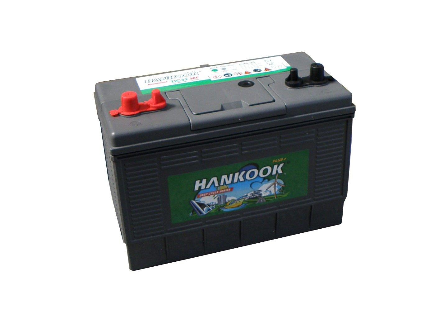 Hankook 125Ah nevera a batería de ciclo profundo: Amazon.es ...