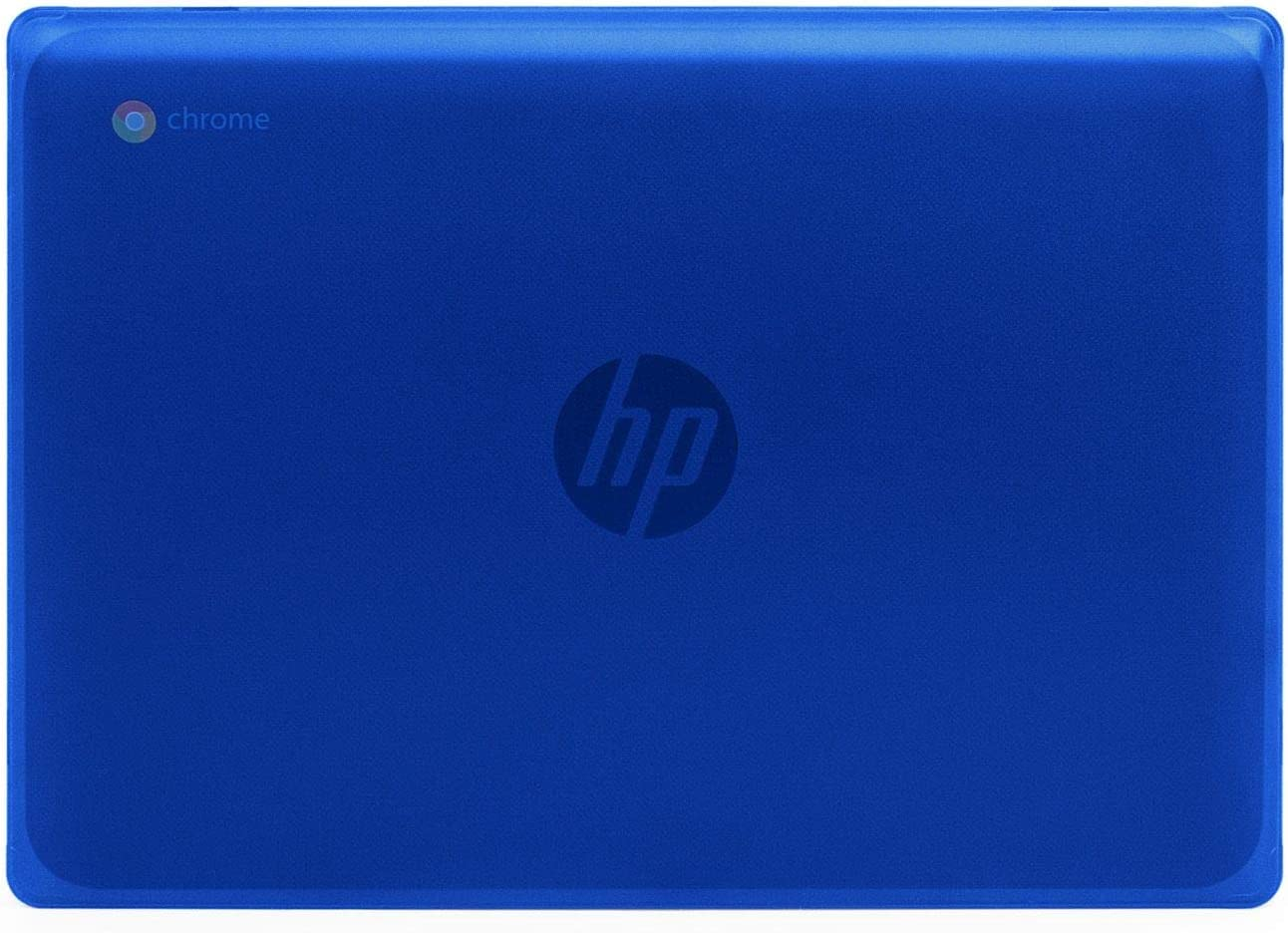 "mCover Hard Shell Case for New 2020 11.6"" HP Chromebook 11 G8 EE laptops (Blue)"