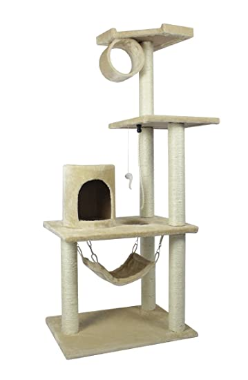 Nice BestPet 62u0026quot; Cat Tree Condo Furniture Scratch Post Pet House