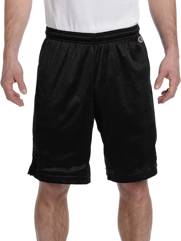 TALLA S. Champion Pantalones Cortos de Malla de poliéster - Athletic Verde Oscuro - S 3,7 G. De Malla de poliéster