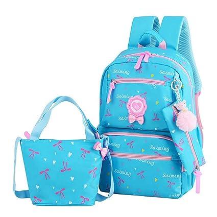 Backpack,Mochilas Escolares,Mujer Mochila Escolar,Lona Bolsa Casual Para Chicas Bolsa De