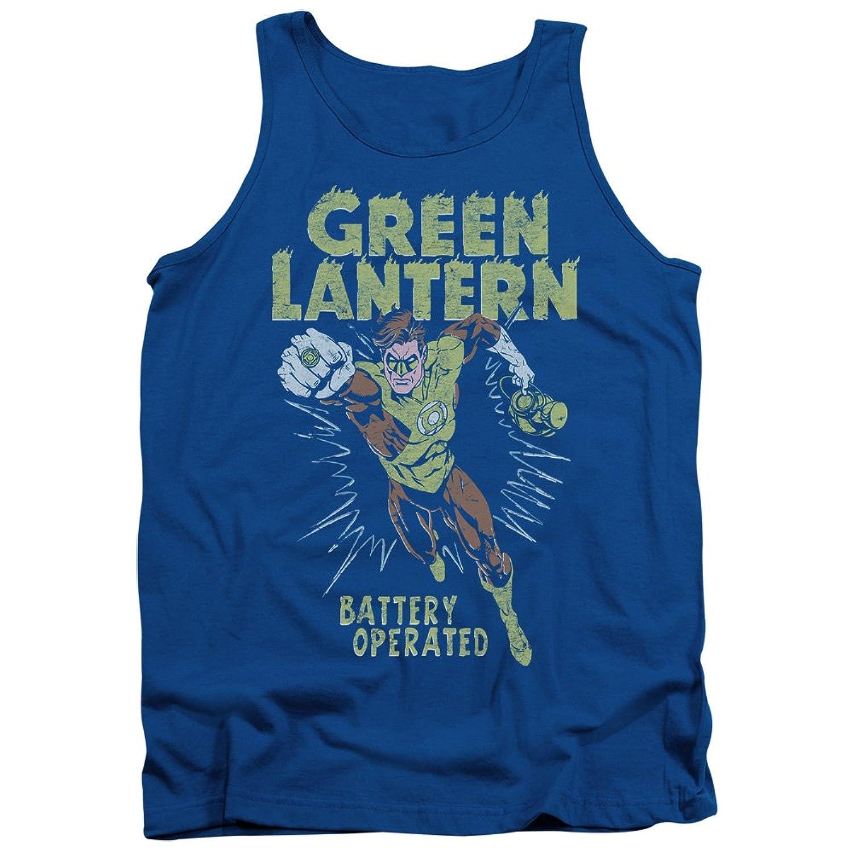 Green Lantern DC Comics Green Lantern Battery Operated Charge Adult Tank Shirt