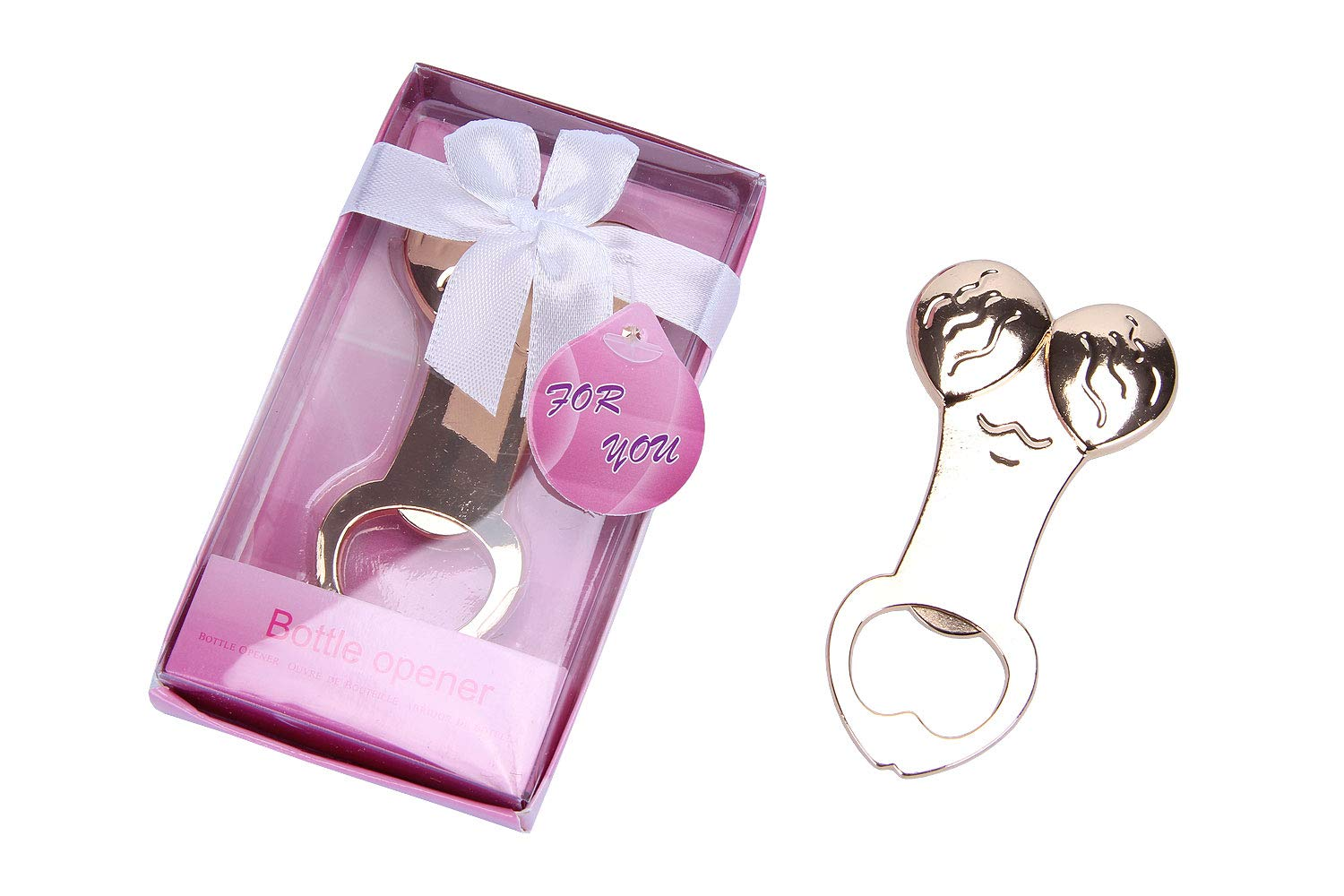24 Packs Fun Bottle Openers Shaped Funy Hen Party Night Bachelorette Party Supplies Favor