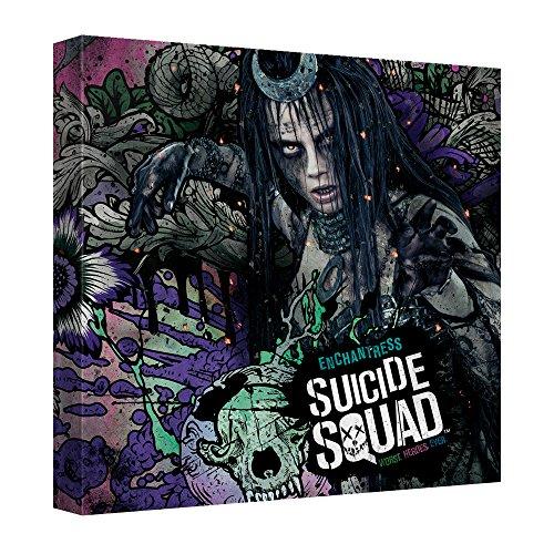 Enchantress Montage -- Suicide Squad -- Stretched Canvas Framed Artwrap, 12x12 -