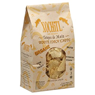 Xochitl Tortilla Chips White Corn, 12-Ounce (Pack of 10)