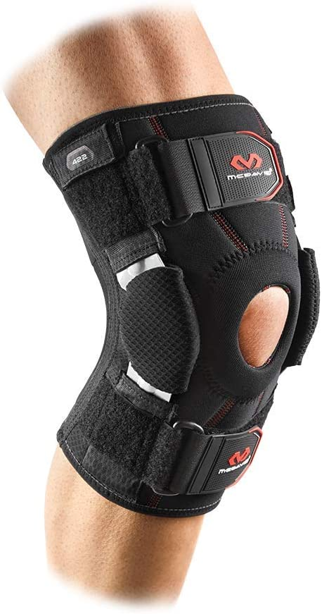 B000UW1K5W Mcdavid Knee Brace, Maximum Knee Support & Compression for Knee Stability & Recovery Aid, Patella Tendon Support, Tendonitis Pain Relief, Ligament Support, Hyperextension, Men & Women, Sold as 1 Units 61cF2BSTzsBL