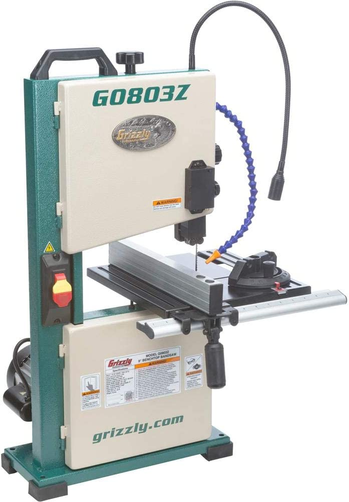 Grizzly Industrial 9-Inch Benchtop Bandsaw