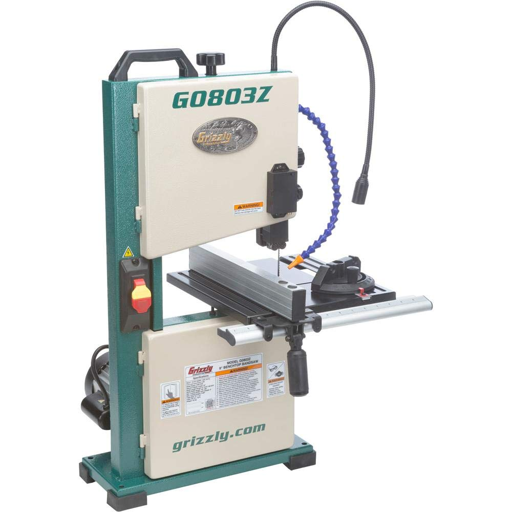 Grizzly Industrial G0803Z - 9 Benchtop Bandsaw with Laser Guide