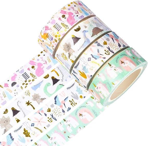 15mm X 5m Gold Washi Tape Gold Foil Tape Gold Foil Pattern Plant Washi Tape Pattern Washi Tape Leaf Washi Tape Washi Tape