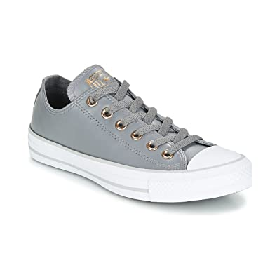 c0a2967a0dd3 Converse Chuck Taylorr All Star Craft Neutral Leather Ox Mason White Mouse  Women s Classic