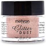 Mehron Makeup GlitterDust (.25 Ounce) (Copper)