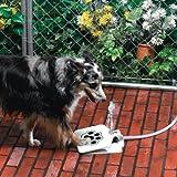 Sporer Pet Supplies Upgrade Dog Step Spray Paw Water Fountain Feeder Drinking Spring Pedal Water Feeder